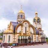 Sochi, Ρωσία - 14 Μαΐου 2016: 1$ος καθεδρικός ναός του Βλαντιμίρ πριγκήπων μέσα Στοκ εικόνες με δικαίωμα ελεύθερης χρήσης
