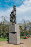 Sochi, Ρωσία, στις 23 Απριλίου 2015: Μνημείο Nikolay Ostrovsky Στοκ φωτογραφία με δικαίωμα ελεύθερης χρήσης