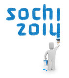 Sochi 2014 Royalty Free Stock Photography