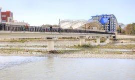 Sochi adler Mzymta Fluss Lizenzfreie Stockfotografie