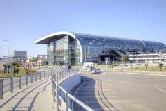 Sochi. Adler. Railway station Stock Photo