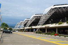 Sochi Airport area Royalty Free Stock Image