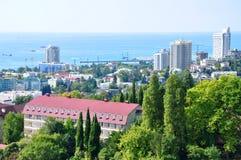 Sochi-BADEKURORT-Rücksortierung Stockbilder
