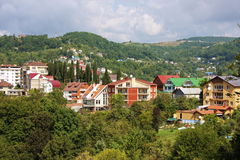 Sochi, a beautiful view of the city. Landscape Stock Image