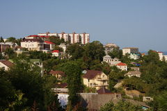 Sochi, a beautiful view of the city. Landscape Stock Photography