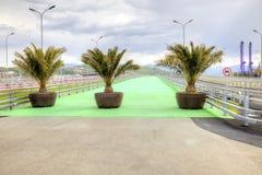 Sochi. Bike Path Stock Image