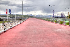 Sochi. Bike Path Royalty Free Stock Images