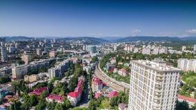 Sochi City Time Lapse 4K stock video footage