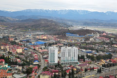 Sochi cityscape Stock Images