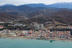 Sochi cityscape Royalty Free Stock Photography
