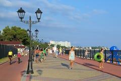 Sochi deptak Zdjęcie Royalty Free