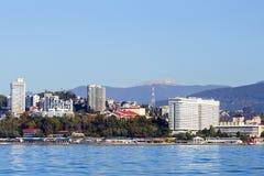 Sochi deptak miasto Obraz Royalty Free