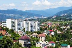 Sochi, eine Stadtlandschaft Stockbild