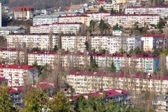 Sochi, eine Winterlandschaft Lizenzfreie Stockfotos