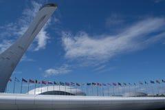 Sochi Flame Cauldron Statue Royalty Free Stock Photo