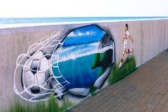Sochi Futbol Zdjęcia Royalty Free