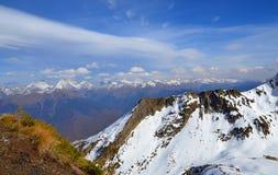 Sochi. Grań Aibga. Zachodni Kaukaz. Obraz Royalty Free