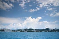 Sochi-Küste lizenzfreie stockbilder