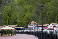 Sochi, Krasnaya Polyana im Frühjahr Lizenzfreie Stockbilder