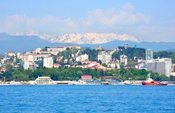 Sochi landscape Stock Photography