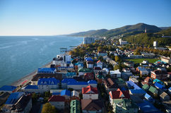 Sochi, Lazarevskoe Fotografia Stock