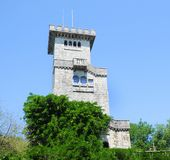 Sochi, a lookout tower Royalty Free Stock Image