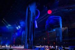 Sochi 2014 olimpiad ceremonia otwarcia Fotografia Royalty Free