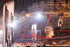 Sochi 2014 olimpiad ceremonia otwarcia Obrazy Royalty Free