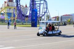 Sochi olimpijski park Przedmiot olimpiady zimowe Zdjęcia Royalty Free