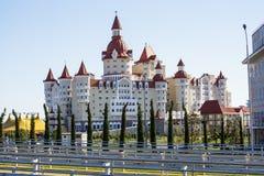Sochi olimpijski park Przedmiot olimpiady zimowe Obrazy Royalty Free