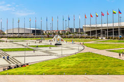 Sochi Olimpijski park Rosja zdjęcie royalty free