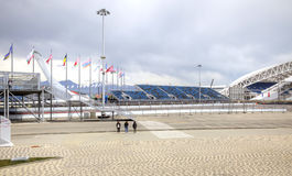 Sochi. Olympic area and automotive circuit Formula 1 Stock Photo