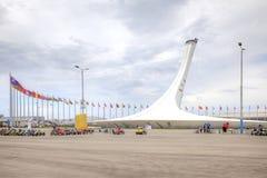 Sochi. Olympic area Royalty Free Stock Image