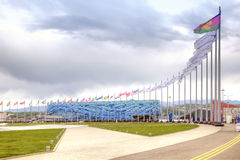 Sochi. Olympic area Stock Images