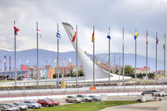 Sochi. Olympic area Stock Photography