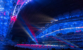 Sochi 2014 Olympic Games opening ceremony Stock Images
