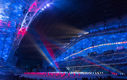 Sochi 2014 Olympic Games opening ceremony Royalty Free Stock Photo