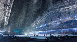 Sochi 2014 Olympic Games opening ceremony Royalty Free Stock Images