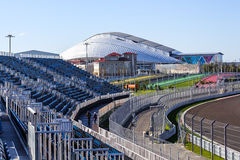 Sochi. Olympic Park. Facilities and attractions. Royalty Free Stock Photos