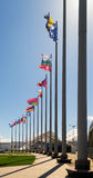 Sochi Olympic Park Flags Stock Image
