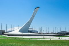 Sochi Olympic Park the Olympic games Royalty Free Stock Images