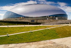 Sochi Olympic Park Ice Stadium Stock Photography