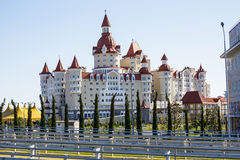 Sochi. Olympic Park. Objects Winter Olympics. Royalty Free Stock Images