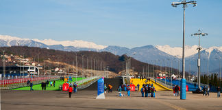 Sochi Olympic Park Stock Photo