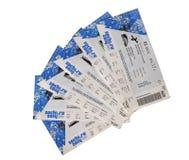 Sochi Olympics tickets Royalty Free Stock Photos