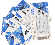 Sochi Olympics tickets Royalty Free Stock Images