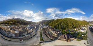 Sochi Panorama aire de 360 grados Foto de archivo libre de regalías