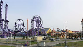 Sochi-Park - Freizeitpark stock footage
