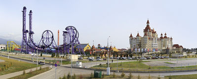 Sochi Park - theme park Royalty Free Stock Photo