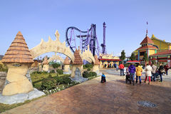 Sochi Park - theme park Royalty Free Stock Image